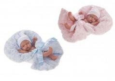 4074B Кукла-младенец Франциско в голубом, 26 см