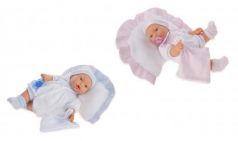 1113B Кукла Химено в голубом плач., 27 см