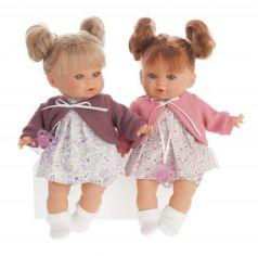 1333F Кукла Монси в фиолетовом, плач., 30 см
