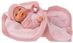 1446P Кукла Амая в розовом, плач., 37 см