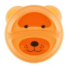Тарелка Lubby Just LUBBY 1 шт от 6 месяцев оранжевый 20152