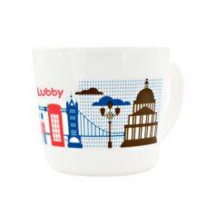 """Кружка Lubby Любимая """"Лондон"""" 1 шт от 1 года рисунок 15632"""