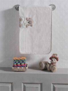 """Плед флисовый """"Honey Bear Linen"""", 100% полиэстер, размер 80*120 см"""
