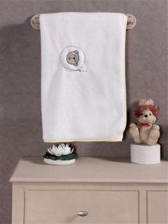"""Плед хлопок/велюр серии """"Little Bear"""", 75% хлопок, 25% полиэстер, размер 80*90 см"""