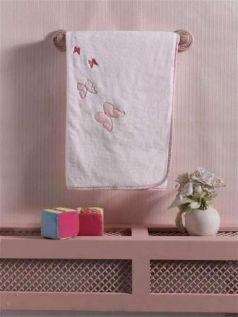 "Плед хлопок/велюр серии ""Sweet Flowers"", 75% хлопок, 25% полиэстер, размер 80*90 см"
