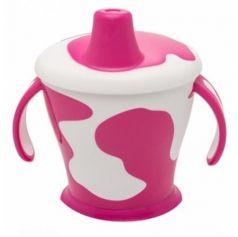 Кружка Canpol Little cow 1 шт от 9 месяцев фиолетовый 31/404