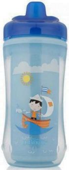 Контейнер Dr.Brown's Чашка-термос 300 мл 1 шт от 1 года синий 00-0008309
