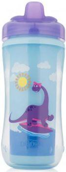Контейнер Dr.Brown's Чашка-термос 300 мл 1 шт от 1 года фиолетовый 00-0008309