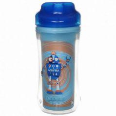 Контейнер Dr.Brown's Чашка-термос 300 мл 1 шт от 1 года синий УТ-0000151