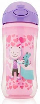 Контейнер Dr.Brown's Чашка-термос 300 мл 1 шт от 1 года розовый УТ-0001785