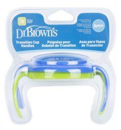 Кружка Dr.Brown's Ручки для чашек 2 шт от 6 месяцев голубой DrBr_TC071