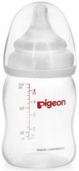 Бутылочка для кормления с широким горлом Pigeon 160 мл