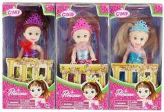 Кукла Cally-Принцесса 10 см, в ассорт.
