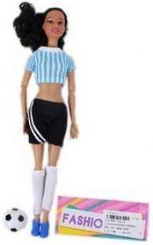 Кукла-болельщица 29см, в шорт., 1 аксесс., шарнирн.