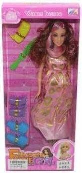 Кукла Будущая мама, 6 аксесс.