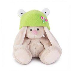 Мягкая игрушка BUDI BASA SidX-147 Зайка Ми в шапке-лягушка (малыш)