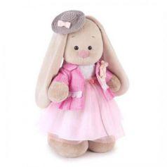 Мягкая игрушка заяц BUDI BASA Зайка Ми Розовый бутон 32 см бежевый розовый пластик текстиль искусственный мех StM-219