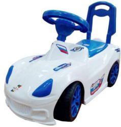 Каталка-машинка Orion Toys Полиция пластик от 1 года на колесах бело-синий ОР160кПол