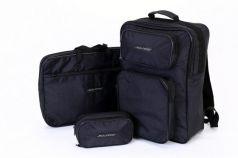 SOLARIS 5519 Рюкзак универсальный 18 л, с чехлом для ноутбука и органайзером, Чёрный