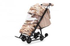 Санки-коляска  Compact Military, цвет бежевый, Pikate