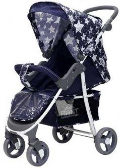 Коляска прогулочная Rant Kira (stars blue)