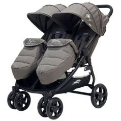 Коляска прогулочная для двоих детей Rant Biplane (brown)