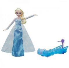 Игрушка Disney Princess кукла ХОЛОДНОЕ СЕРДЦЕ Эльза и санки