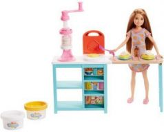 Кукла Barbie (Mattel) Завтрак со Стейси 14 см