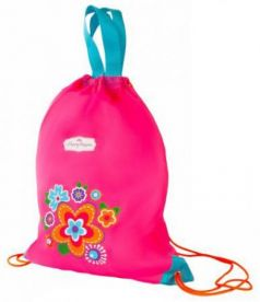 Мешок-рюкзак с ручками Цветы 30*40 см