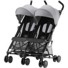 Прогулочная коляска для двоих детей Britax Holiday Double (steel grey)