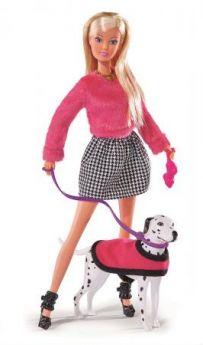 Кукла STEFFI 5738053 на прогулке с долматинцем