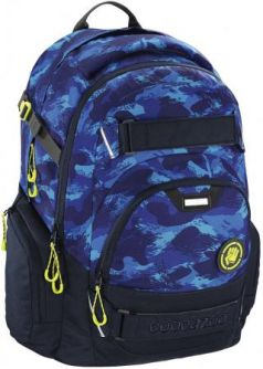 Рюкзак Coocazoo CarryLarry2 Brush Camou синий/голубой