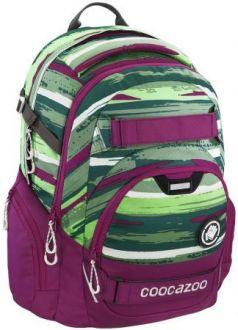 Школьный рюкзак светоотражающие материалы Coocazoo CarryLarry2: Bartik 30 л розовый зеленый 00138735