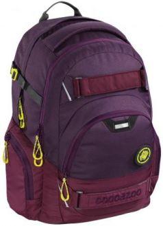 Школьный рюкзак светоотражающие материалы Coocazoo CarryLarry2: Berryman 30 л бордовый 00138732