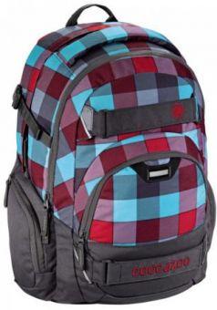Школьный рюкзак светоотражающие материалы Coocazoo CarryLarry2: Pink District 30 л серый розовый 00129963