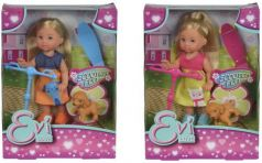 """Кукла SIMBA """"Еви на скутере"""" 12 см в ассортименте"""
