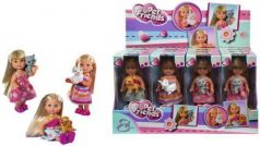 Кукла Еви с зверюшками, 12 см., в асс-те