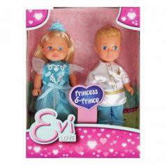 Куклы Тимми и Еви - принц и принцесса, 12см