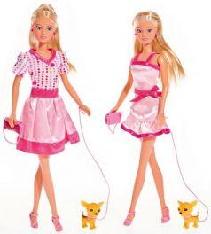 Кукла Штеффи + собачка + сумка, в асс-те