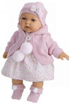 Кукла Азалия в ярко-розовом, озвуч., 27 см