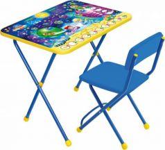 Комплект стол+стул Ника Познайка 2 Математика в космосе
