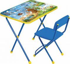Комплект стол+стул Ника Познайка 2 Хочу все знать