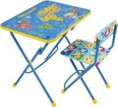 Комплект стол+стул Ника Умничка 1 Познаю мир