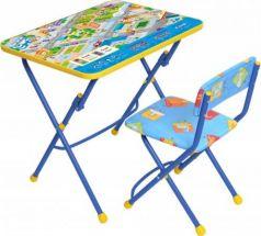 Комплект стол+стул Ника Умничка 1 Правила дорожного движения