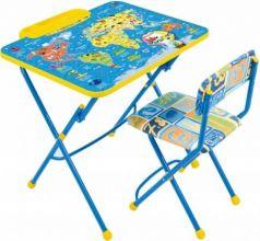 Комплект стол+стул Ника Умничка 2 Познаю мир