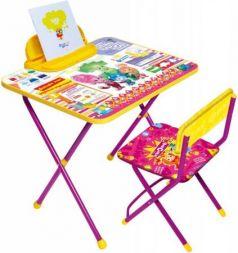 Комплект стол+стул Ника Фиксики 1 Знайка