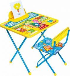 Комплект стол+стул Ника Фиксики 1 Азбука