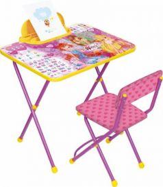 Комплект стол+стул Ника Winx 2 Азбука