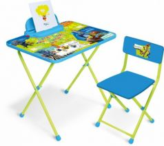 Комплект стол+стул Ника Disney 2 Зверополис