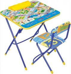 Комплект стол+стул Ника Умничка 3 Правила дорожного движения